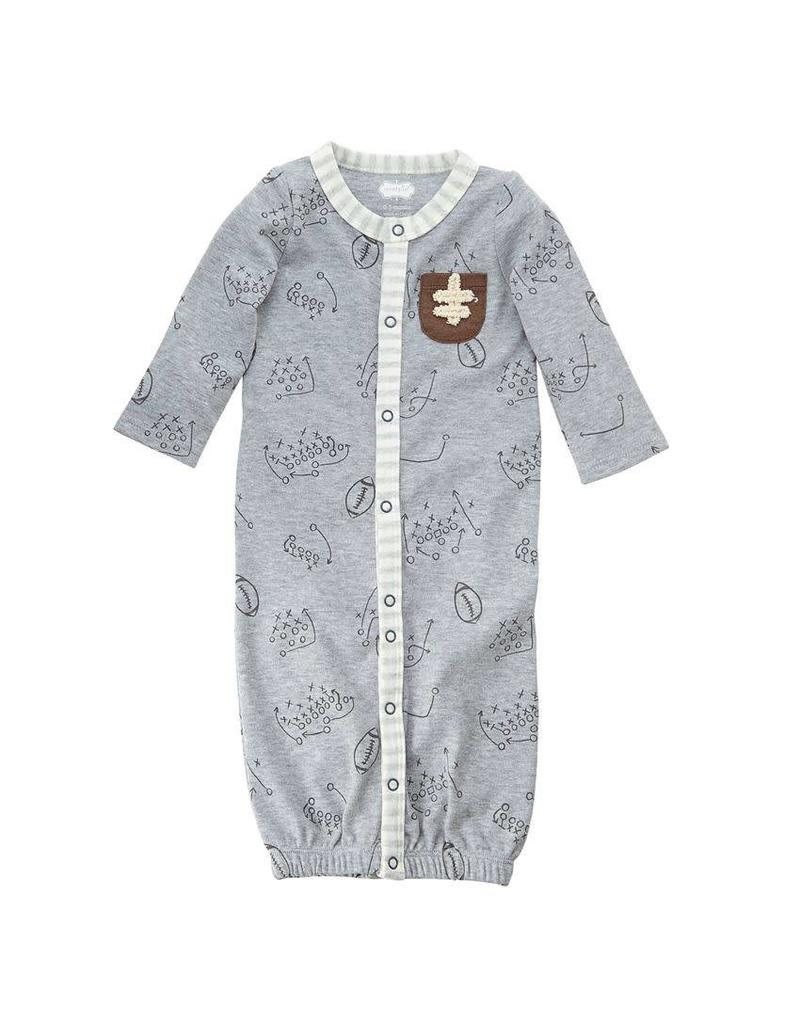 Convertible Football Gown 0-3 Months
