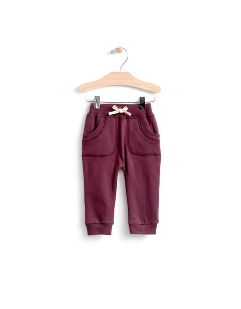 City Mouse Brushed Terry Jogger