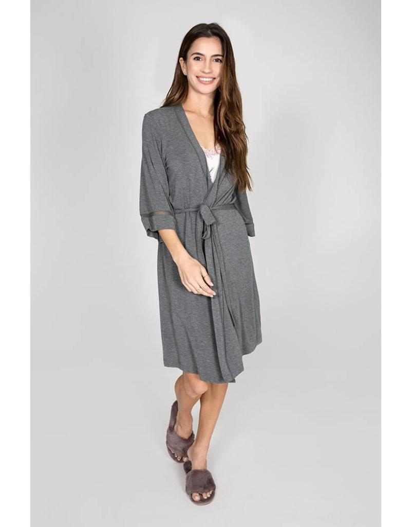 P.J. Salvage Modal Basics Robe - Smoke