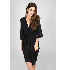P.J. Salvage Modal Basics Robe - Black