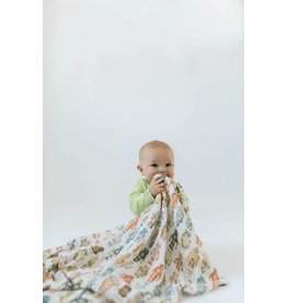 Loulou Lollipop LouLou Lollipop Premium Swaddle - Robot