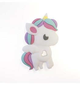 Loulou Lollipop Rainbow Unicorn Teether Single