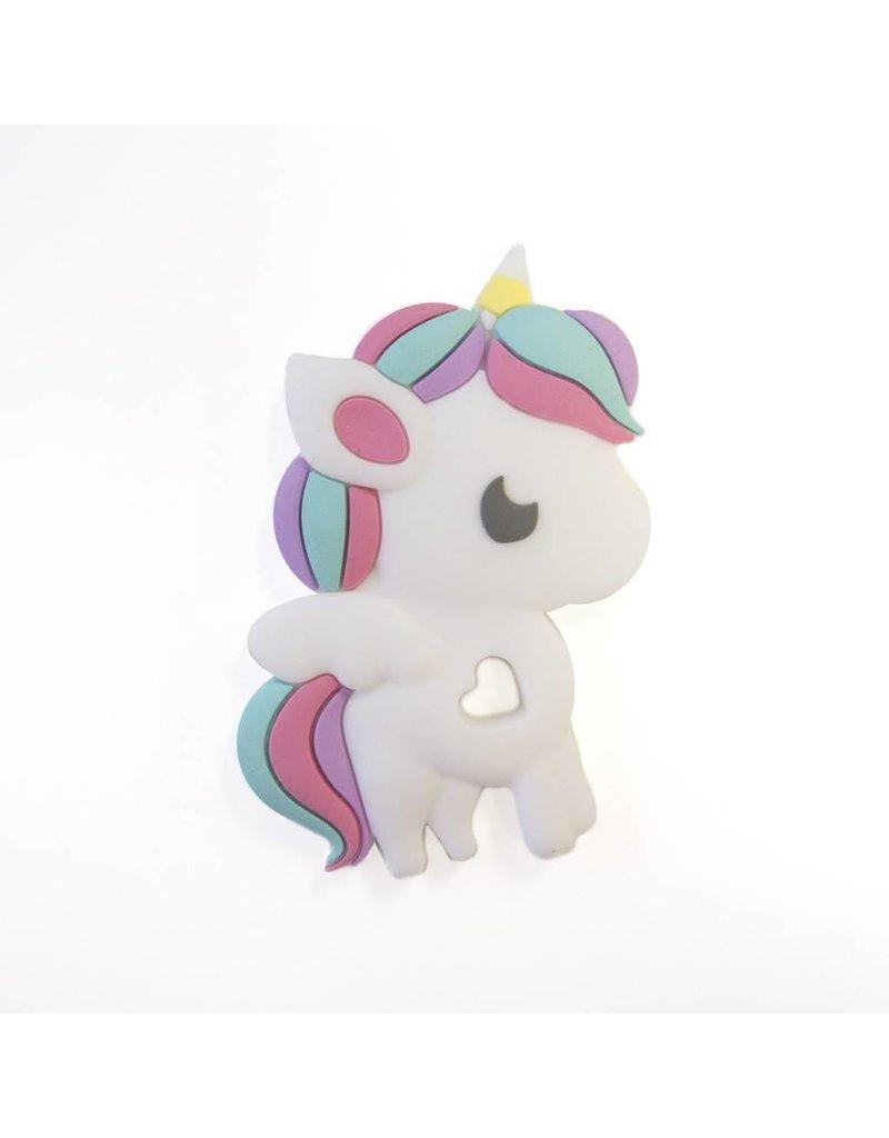 Loulou Lollipop Rainbow Unicorn Teether Single