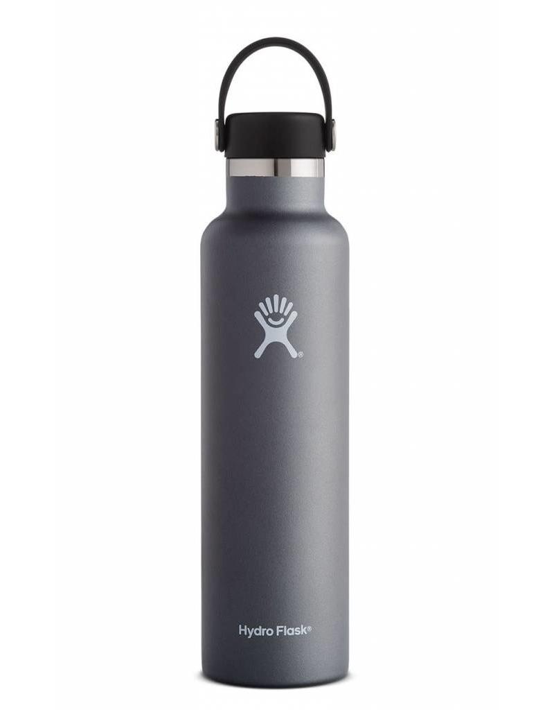 Hydro Flask HydroFlask 24OZ Standard Mouth with Flex Cap - Graphite