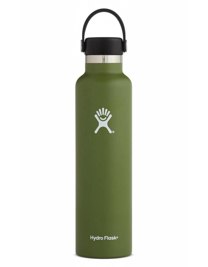 Hydro Flask HydroFlask 24OZ Standard Mouth with Flex Cap - Olive