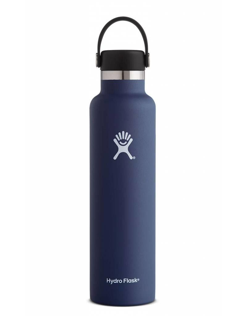 Hydro Flask Hydro Flask 24OZ Standard Mouth with Flex Cap - Colbalt