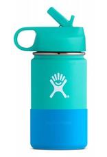 Hydro Flask Hydro Flask 12oz Kids Wide Mouth straw lid - Mint