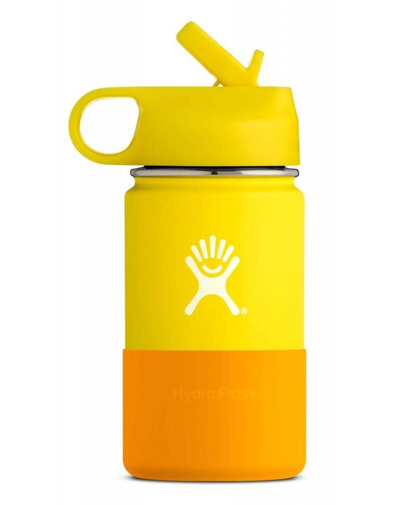 Hydro Flask Hydro Flask 12oz Kids Wide Mouth straw lid - Lemon