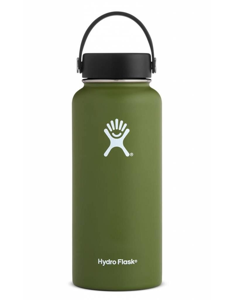 Hydro Flask Hydro Flask 32oz Wide Mouth with Flex Cap - Olive