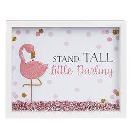 Ganz Cora Flamingo Shadow Box