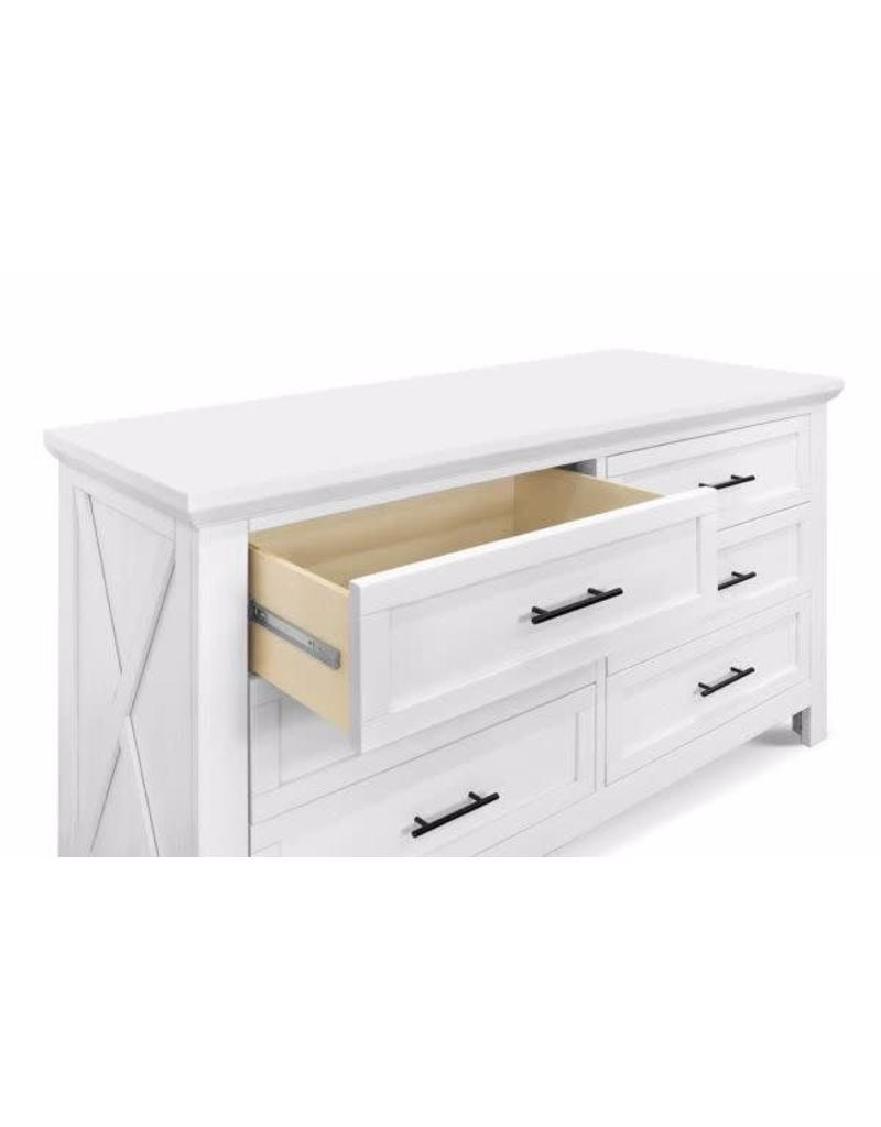 Franklin & Ben Emory Farmhouse 6 drawer white
