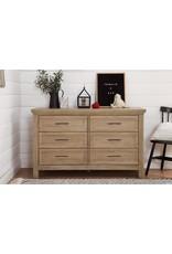 Franklin & Ben Emory Farmhouse 6 drawer Driftwood