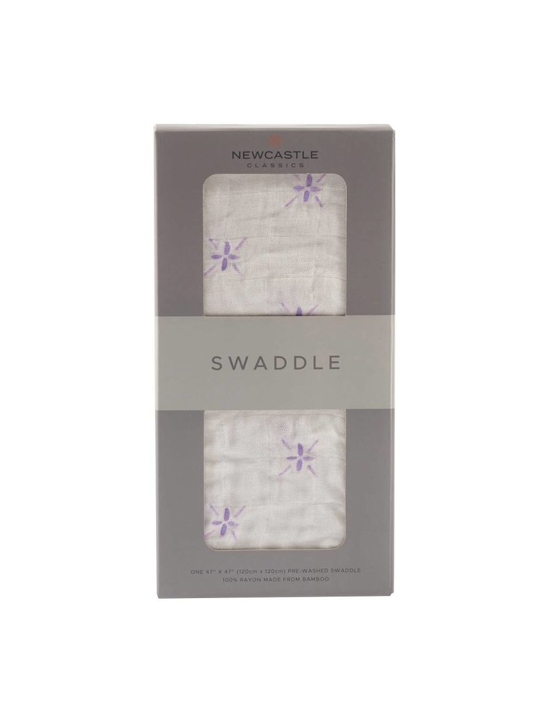 Newcastle Watercolor Star Swaddle