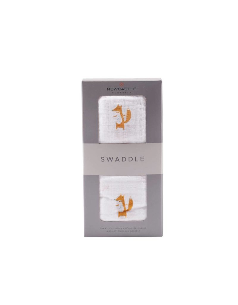 Newcastle Fancy Fox Swaddle