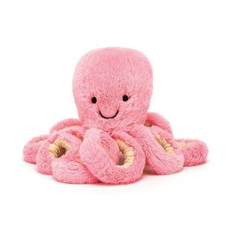 jellycat Jellycat Pastel Baby Candie Octopus 7""