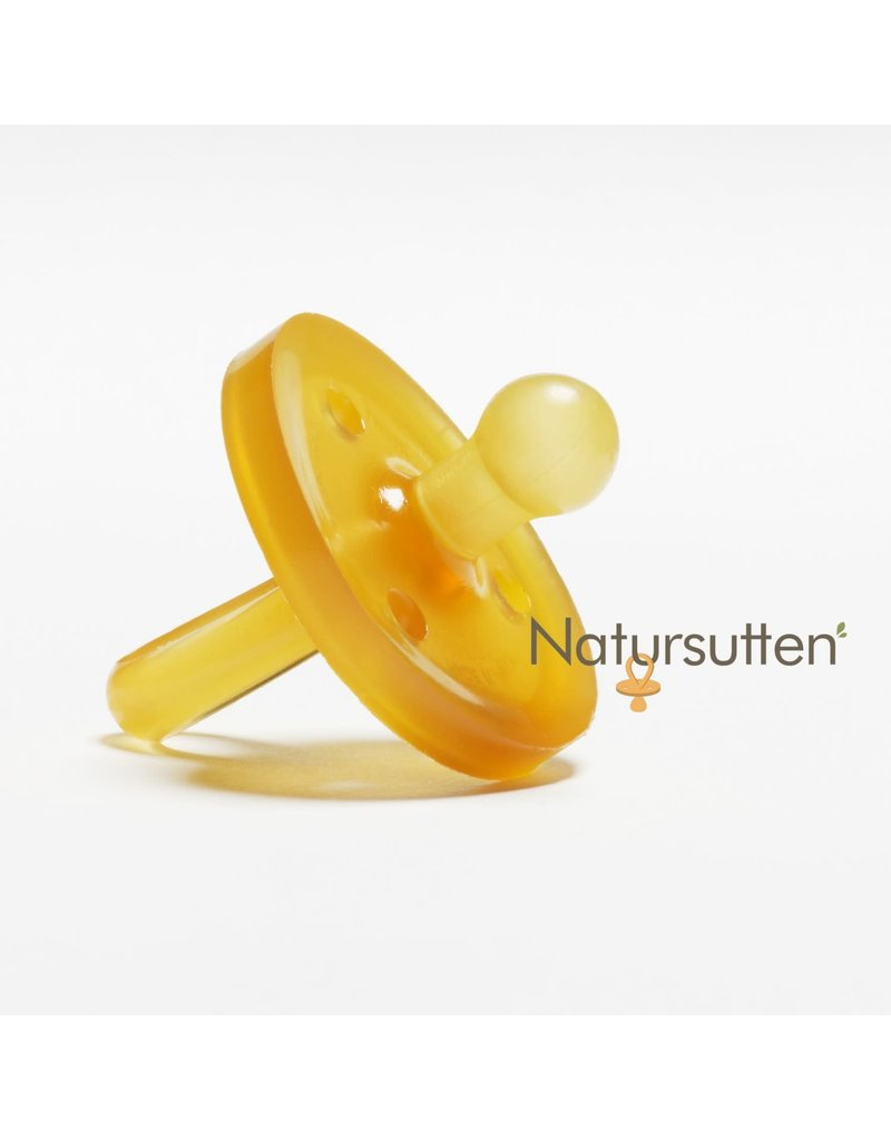 Natursutten Rounded Orthodontic Pacifier Small 0-6Months