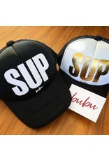 Bubu Youth Black Trucker hat - SUP