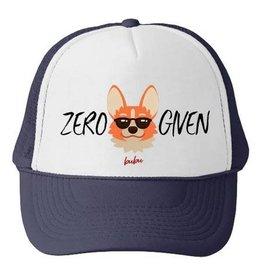 Bubu Youth Navy Trucker hat - Zero Fox Given