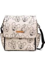 Petunia Pickle Bottom Boxy Backpack in Sketchbook Mickey & Minnie