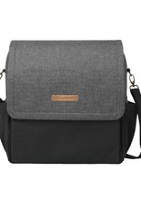 Petunia Pickle Bottom Boxy Backpack in Graphite/Black