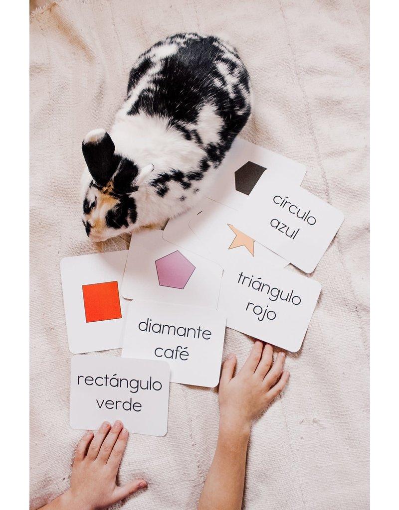 Kindergarten Toolkit Simple Spanish Flashcard Set