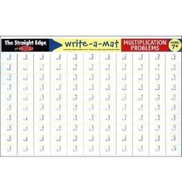 Melissa & Doug Write-A-Mat Muiltiplication Problems