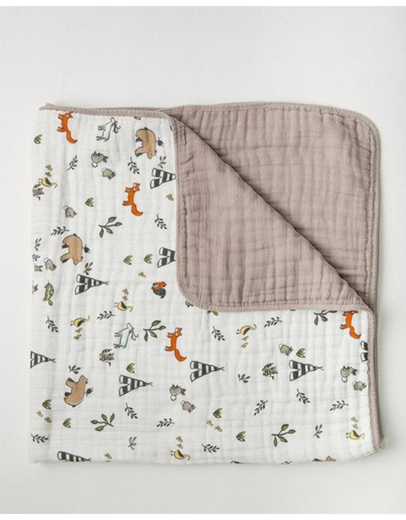 Little Unicorn Muslin Quilt