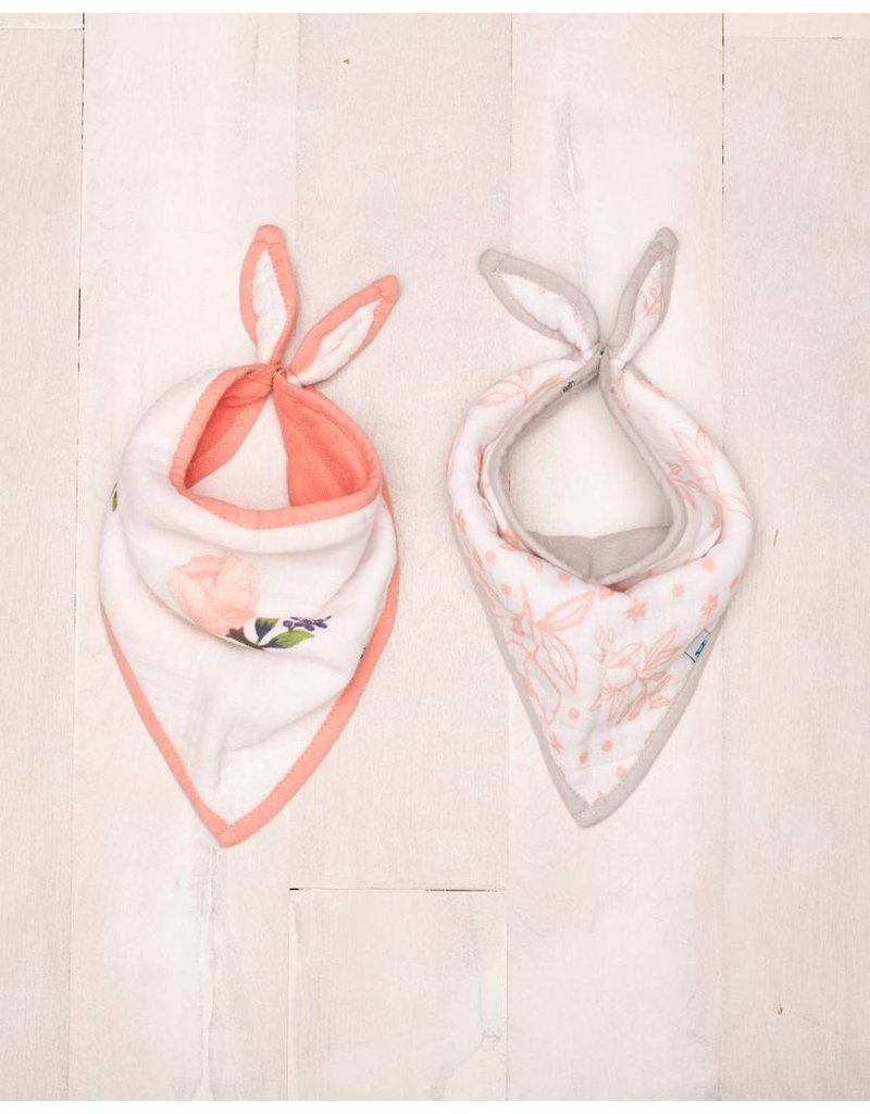 Little Unicorn Little Unicorn Cotton Bandana Bibs