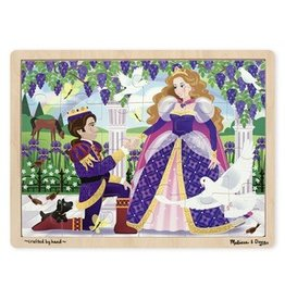 Melissa & Doug Melissa & Doug Prince and Princess 24-Piece Jigsaw Puzzle