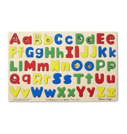 Melissa & Doug Melissa & Doug Two Alphabets are Better Than One