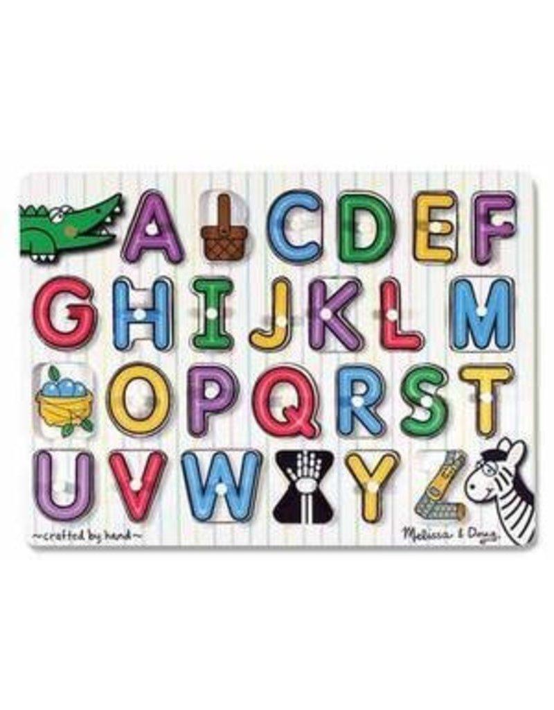 Melissa & Doug Melissa & Doug Alphabet Peg Puzzle