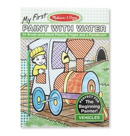 Melissa & Doug Melissa & Doug My First Paint With Color Vehicles