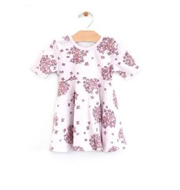 City Mouse Hydrangea Twirl Dress