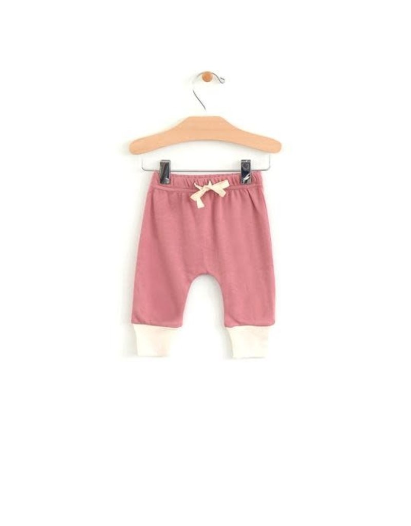 City Mouse Baby Pant - Sunset Rose