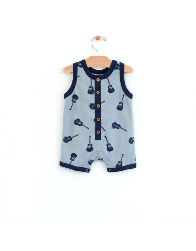 City Mouse Guitars Muscle Tank Romper
