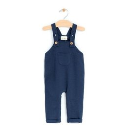 City Mouse Light Sweat Overalls - Midnight Blue