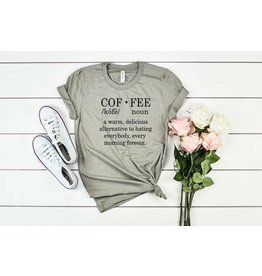 MidWest Tees Coffee Noun- Olive