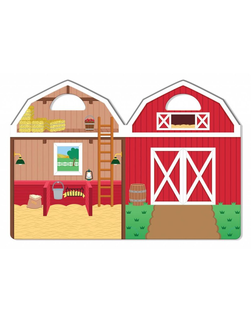 Melissa & Doug Melissa & Doug Puffy Sticker Play Set  Farm