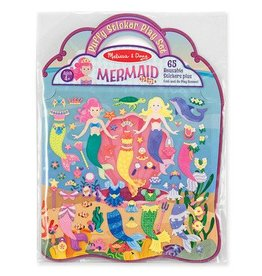 Melissa & Doug Melissa & Doug Puffy Sticker Play Set  Mermaid