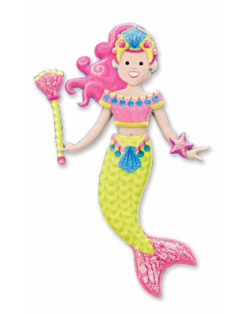 Melissa & Doug Melissa & Doug Puffy Sticker Play Set  Mermaid
