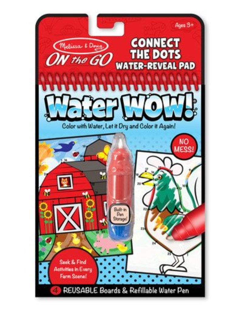 Melissa & Doug Melissa & Doug Water Wow! Farm Connect The Dots
