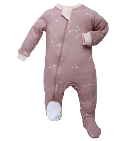 Zippy Jamz Pink Galaxy Love Babysuit