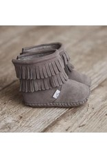 Little Love Bug Gray Cozy Boot with Waterproof Soft Sole