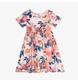 Posh Peanut Posh Peanut Dusk Rose Twirl Dress