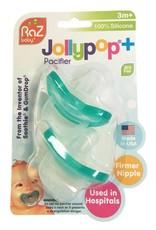 Raz Baby JollyPop Pacifier PLUS 3+ Months 2pk