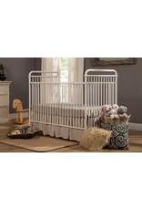 Franklin & Ben Abigail 3 in 1 Convertible Crib Distressed White Iron