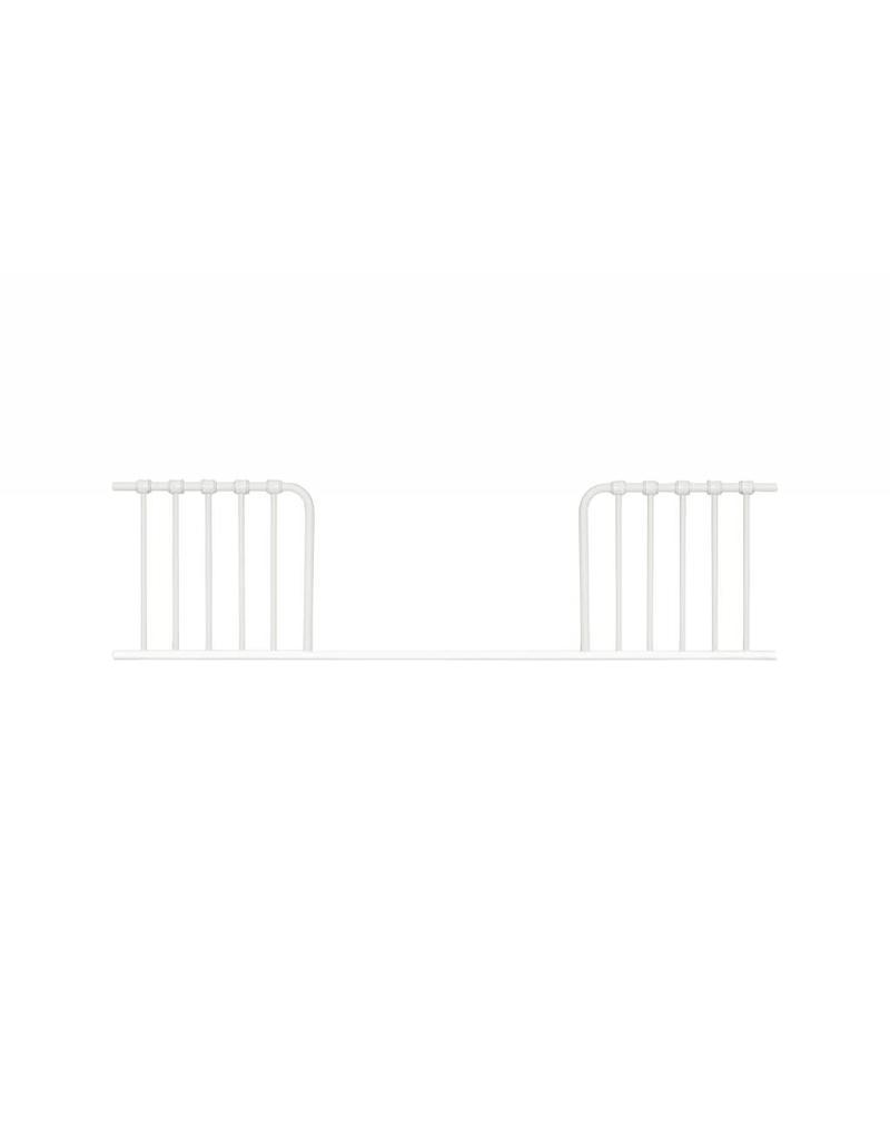 Franklin & Ben Winston 4 in 1 Convertible crib Distressed White Iron