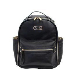 Itzy Ritzy Black Mini Diaper Bag Backpack