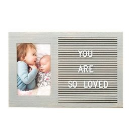 Pearhead Letterboard Photo Frame