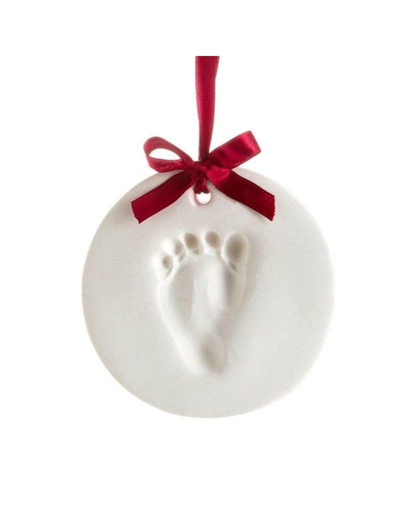 Pearhead Babyprints Christmas Holiday Ornament
